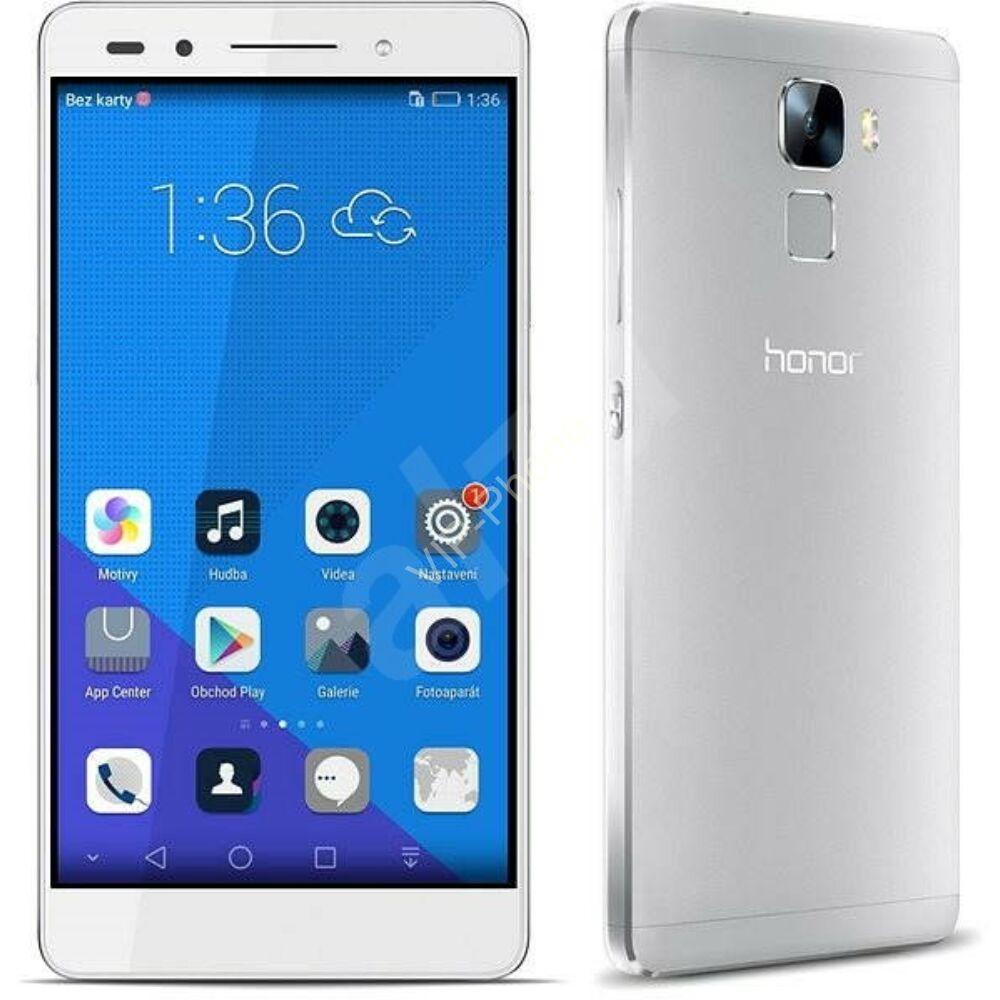 HASZNÁLT Honor 7 16GB Dual-SIM Silver kártyafüggetlen mobiltelefon