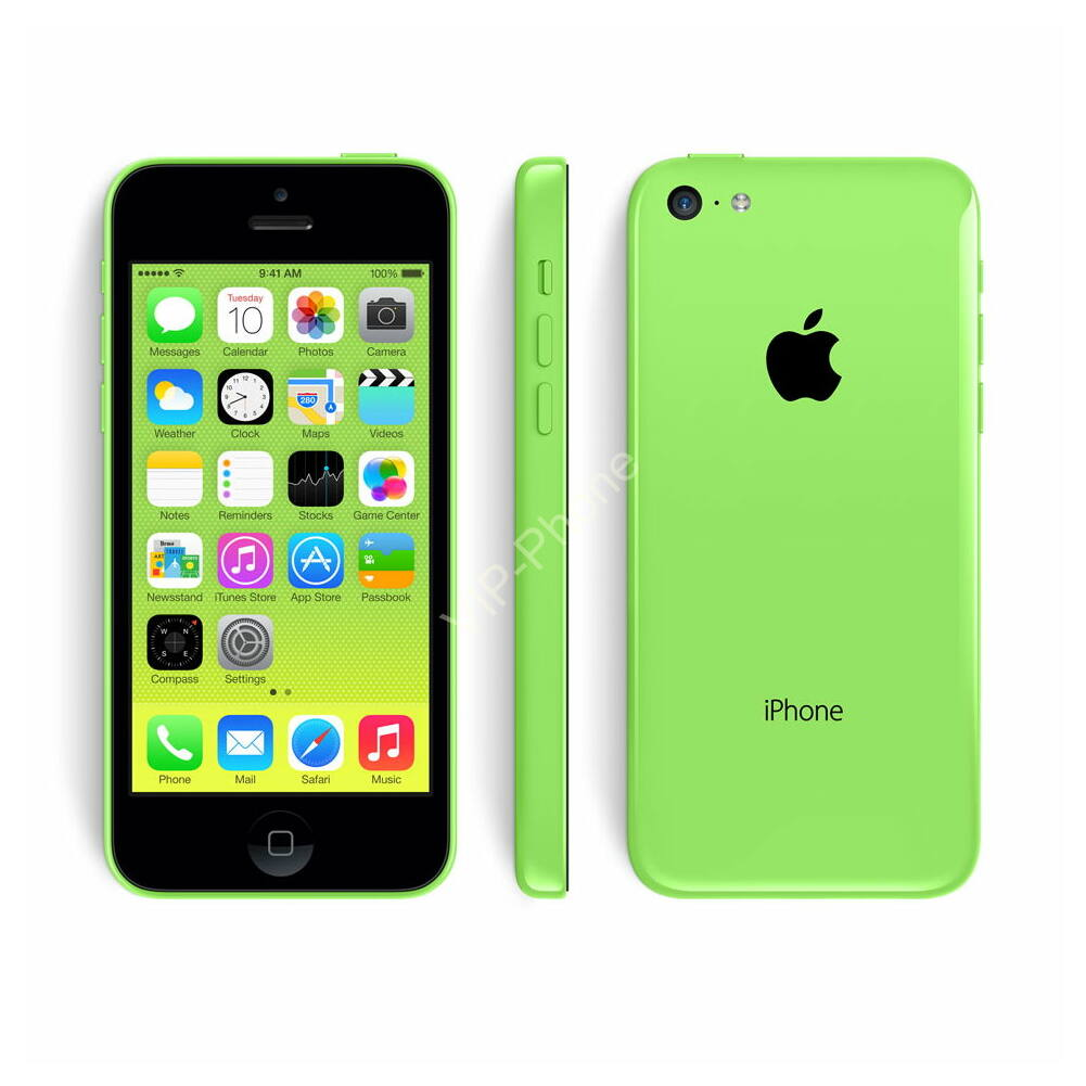 HASZNÁLT Apple iPhone 5C 8Gb Green kártyafüggetlen mobiltelefon