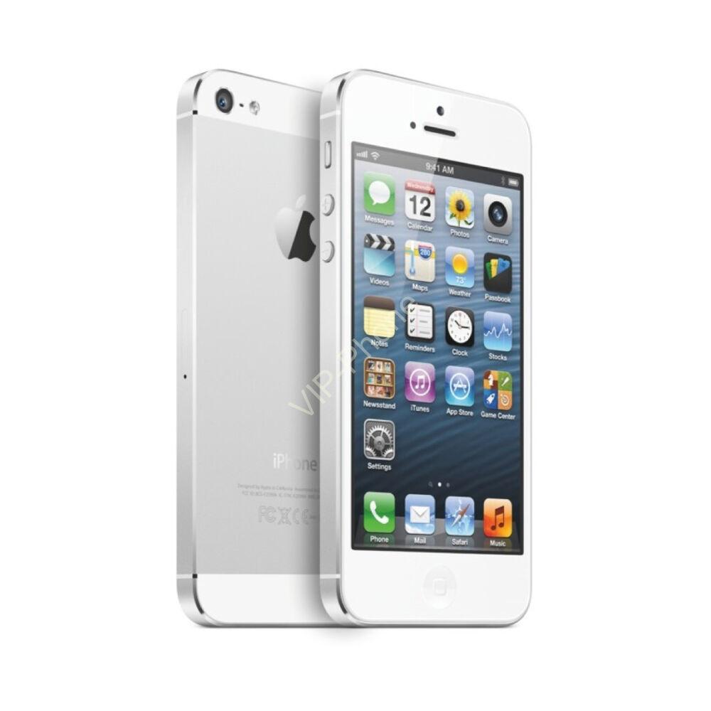 HASZNÁLT Apple iPhone 5 16Gb White kártyafüggetlen mobiltelefon