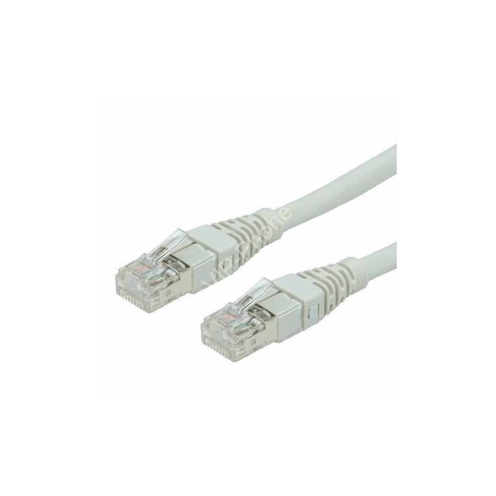 Hálózati kábel, UTP LAN CAT6, 10m szürke, csatlakozóval