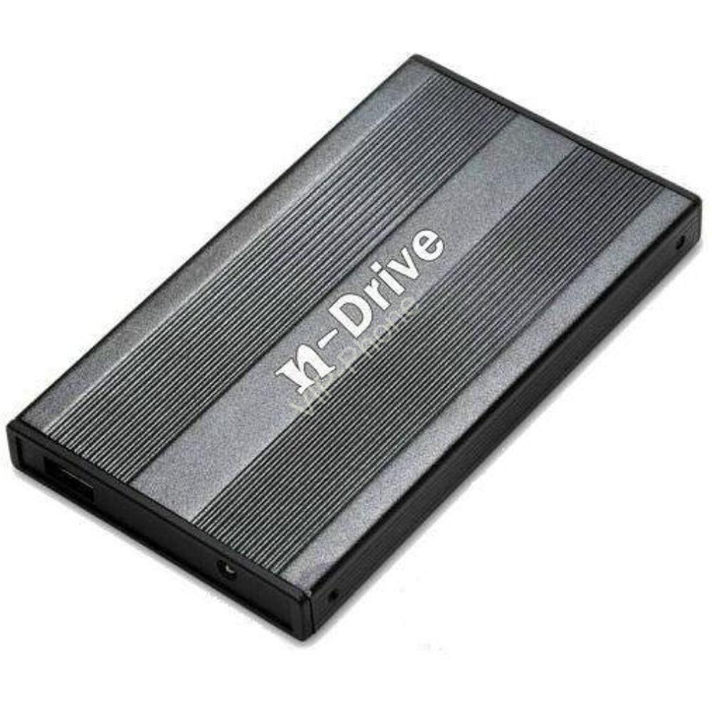 """HDD KÜLSŐ HÁZ 2,5"""" SATA USB3.0 NBASE EH-25ND3 FEKETE"""