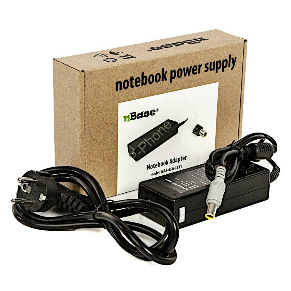 Notebook univerzális töltő 65W nBase NBA-65W-LE11 (Lenovo)
