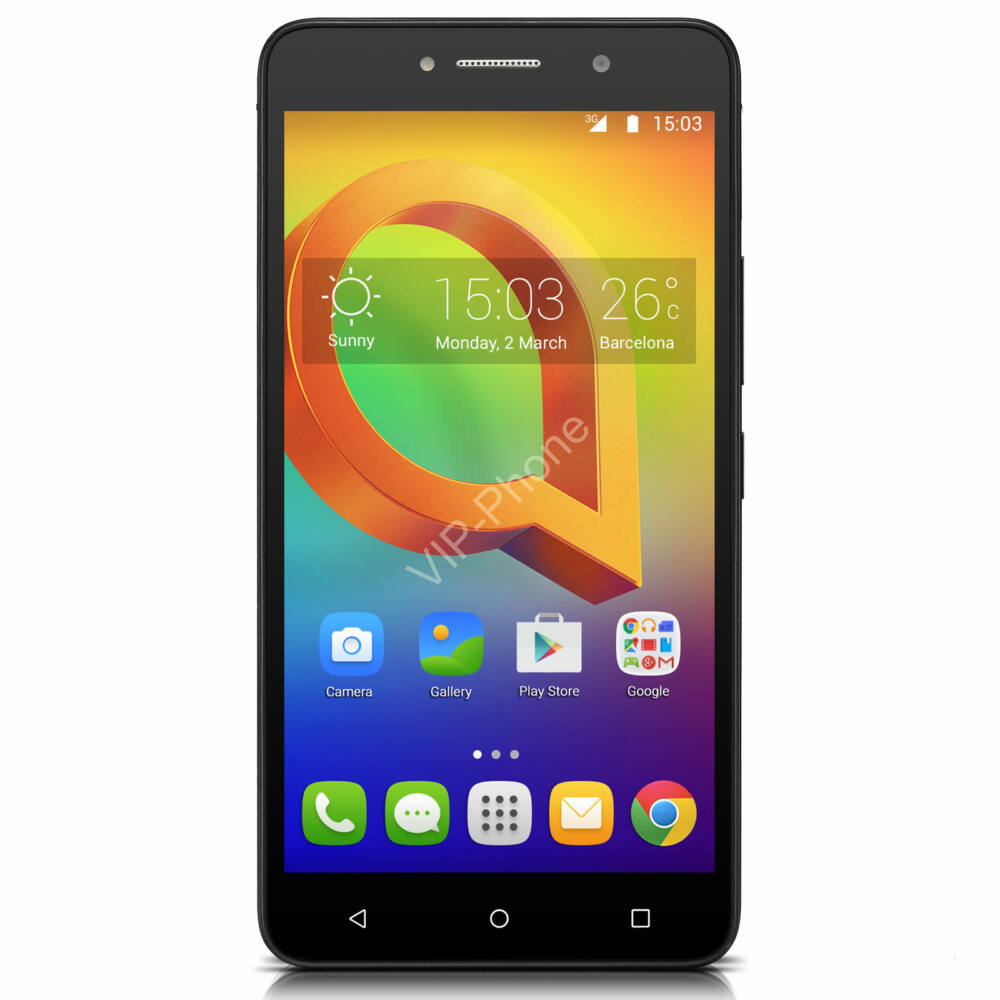 Alcatel 8050 A2 XL fekete gyártói garanciás kártyafüggetlen mobiltelefon