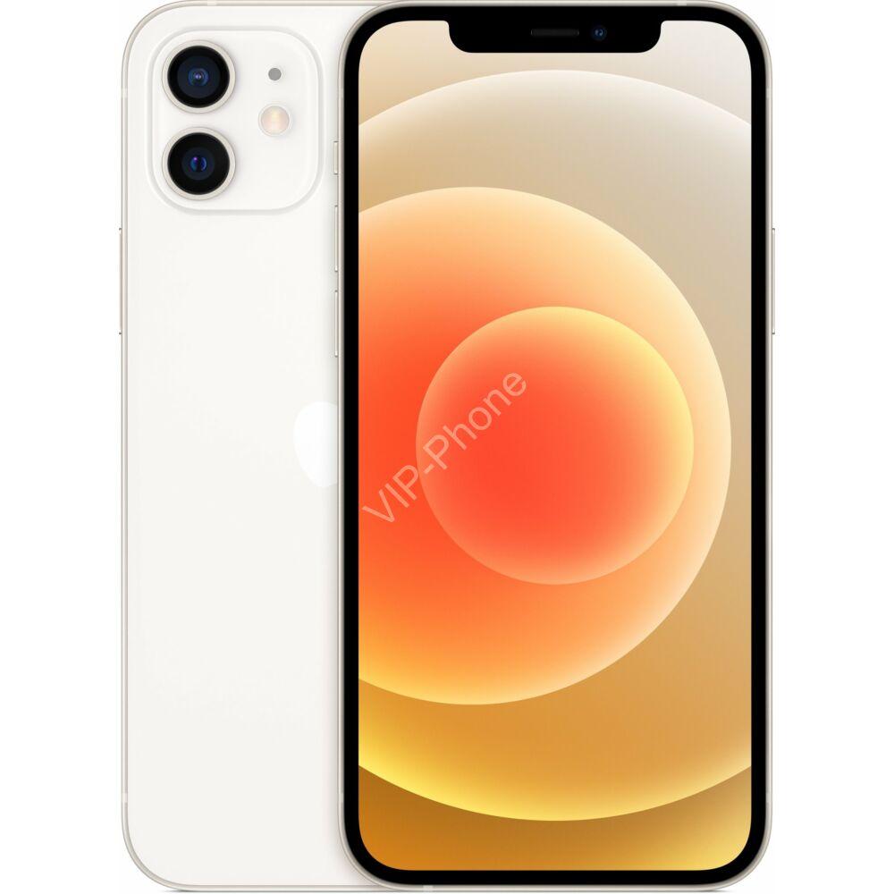 Apple iPhone 12 128GB Fehér, Gyártói Apple Store Garanciás Mobiltelefon