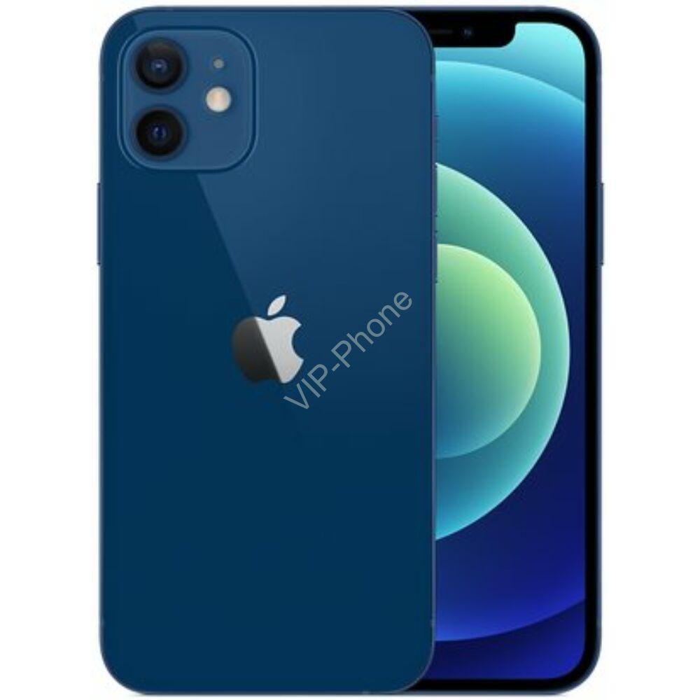 Apple iPhone 12 64GB Kék Gyártói Apple Store Garanciás Mobiltelefon