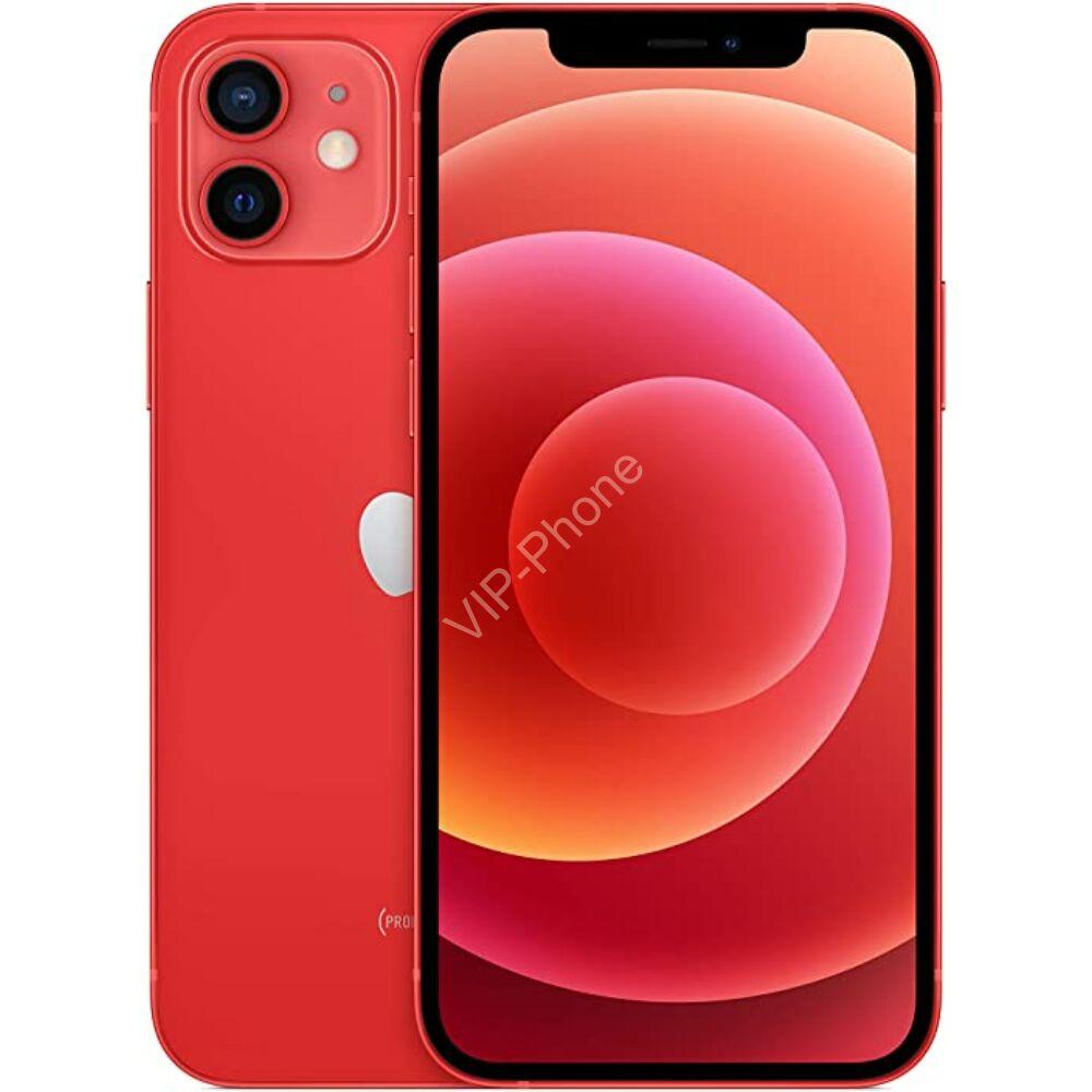 Apple iPhone 12 64GB Piros Gyártói Apple Store Garanciás Mobiltelefon