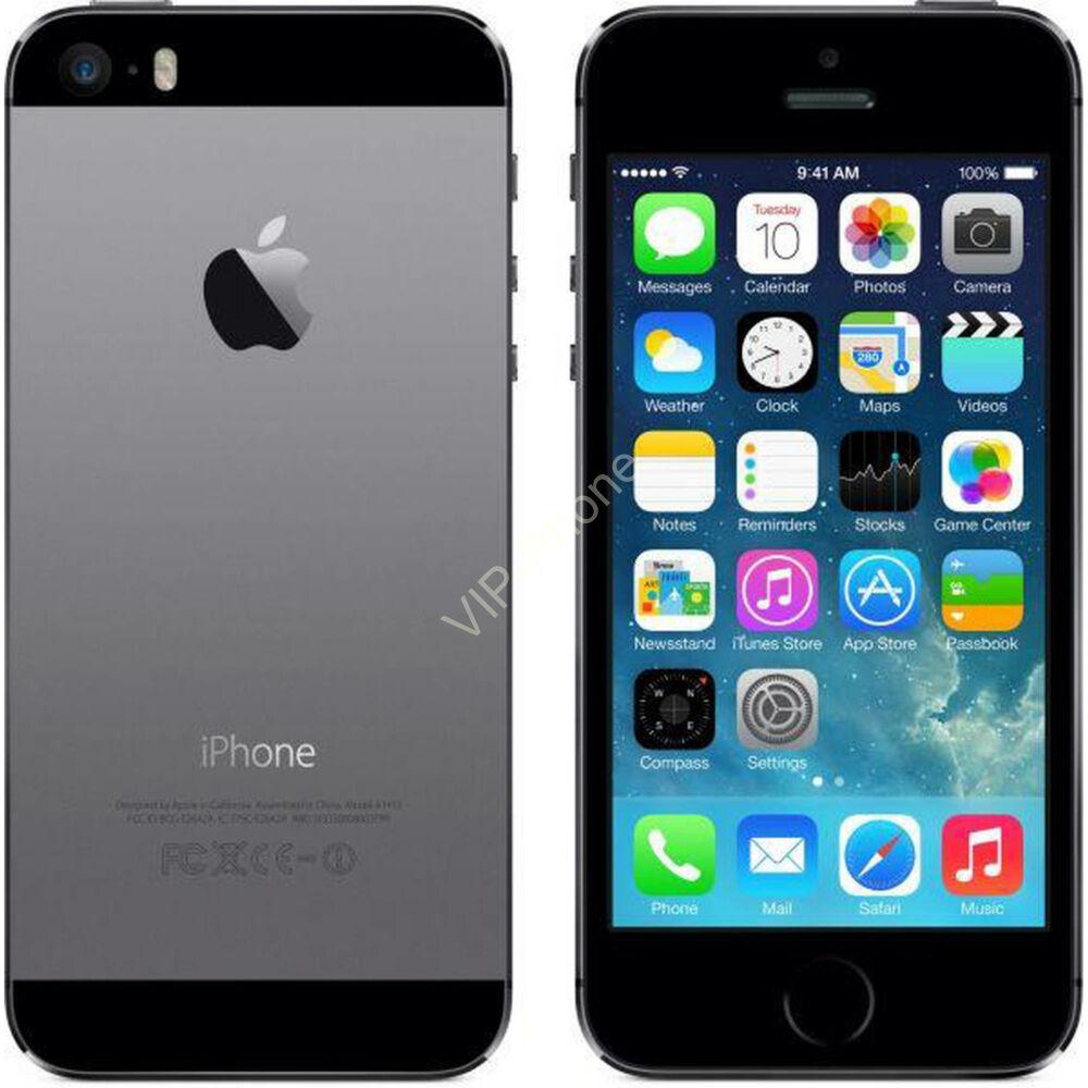 HASZNÁLT, Apple iPhone 5S 16Gb Spacegray kártyafüggetlen mobiltelefon, BEVIZSGÁLT, GARANCIÁLIS