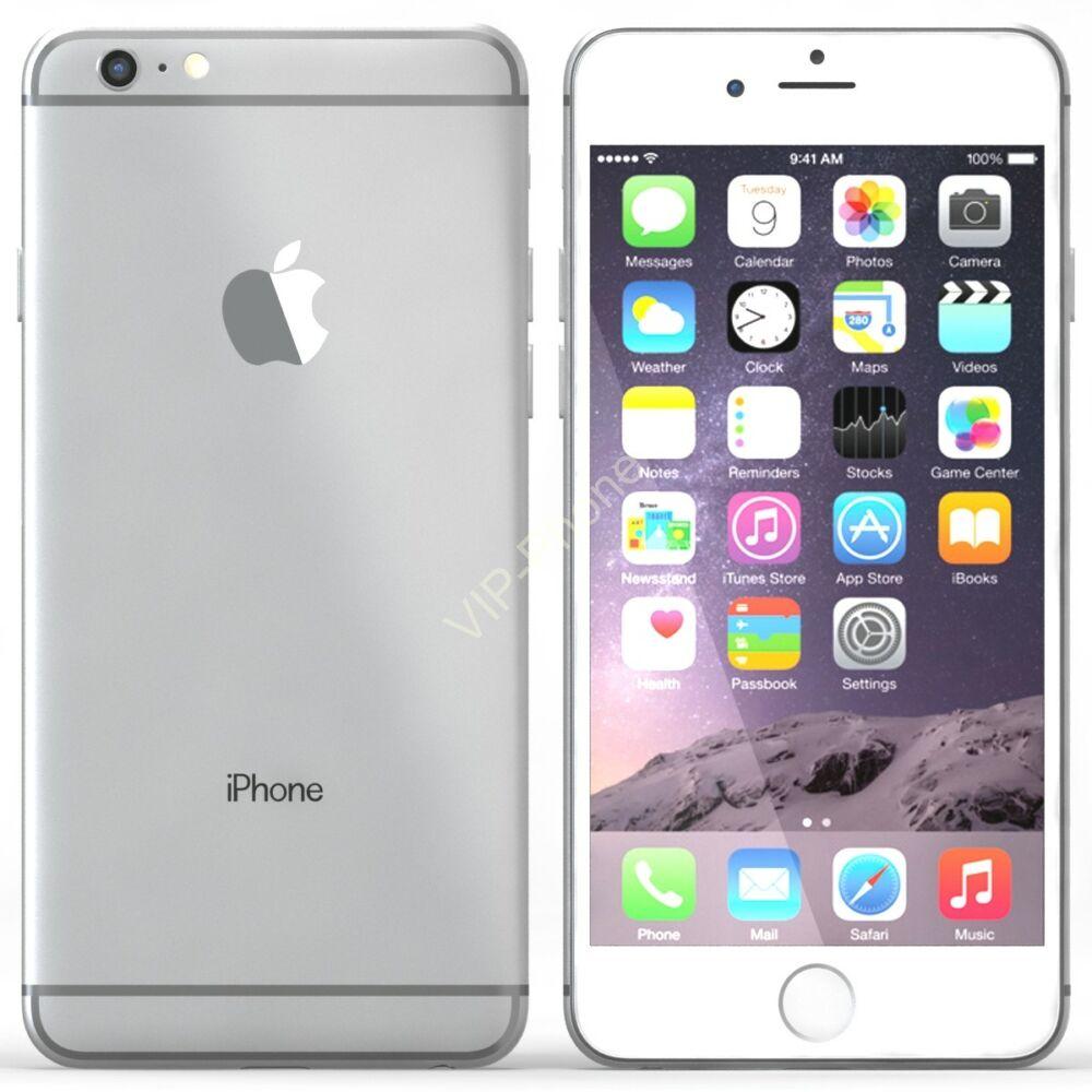 HASZNÁLT Apple iPhone 6S Plus 64Gb Silver-White kártyafüggetlen mobiltelefon