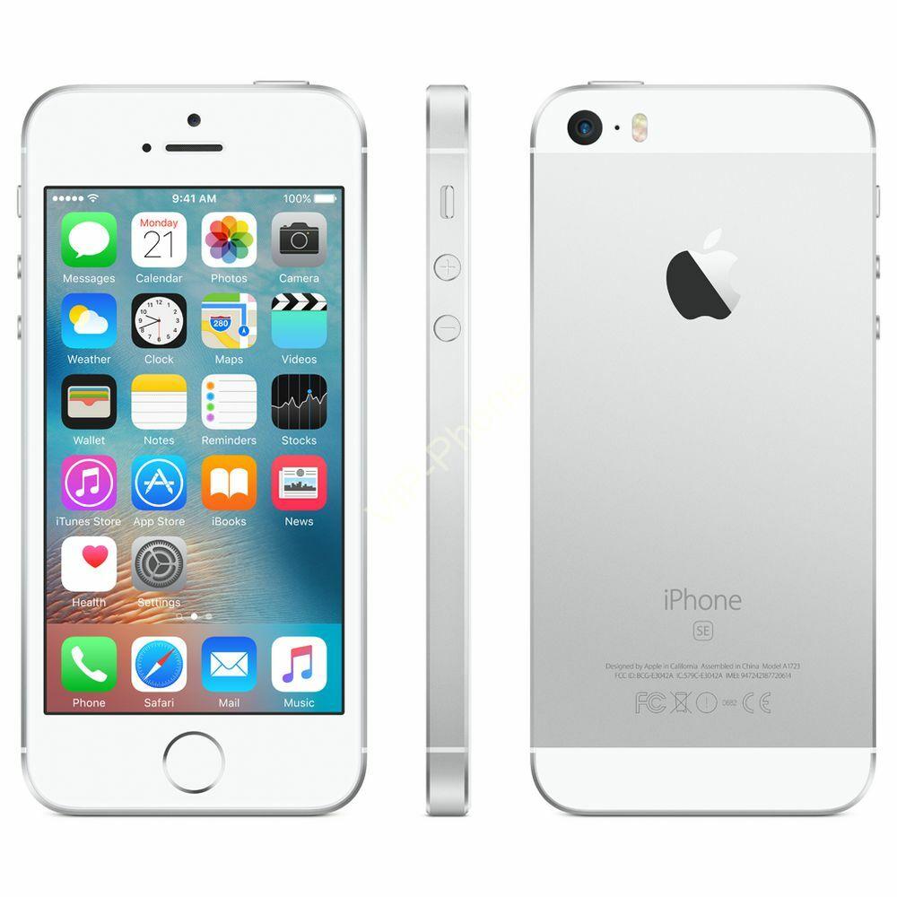 HASZNÁLT Apple iPhone SE 64Gb Silver kártyafüggetlen mobiltelefon
