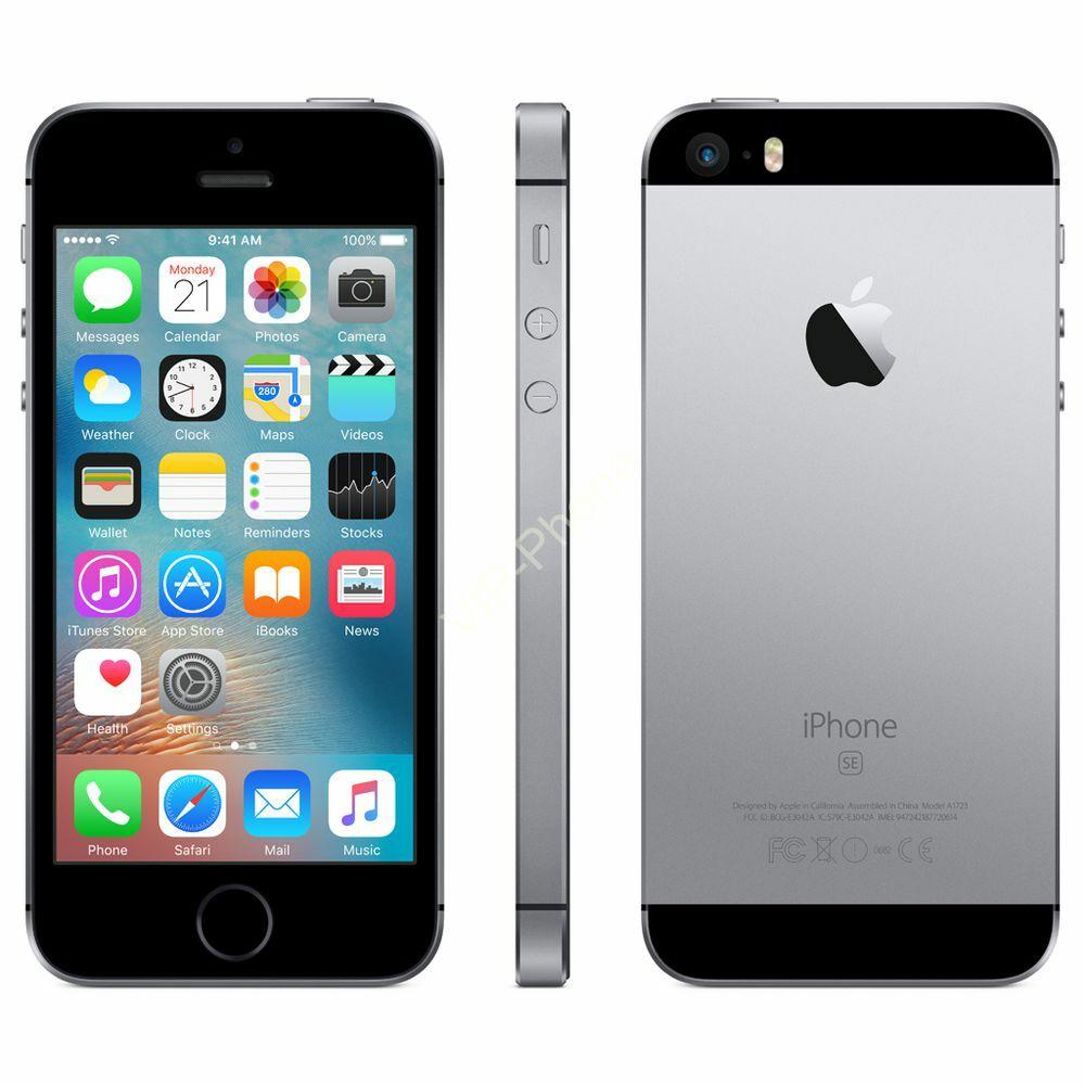 HASZNÁLT Apple iPhone SE 32Gb SpaceGray kártyafüggetlen mobiltelefon