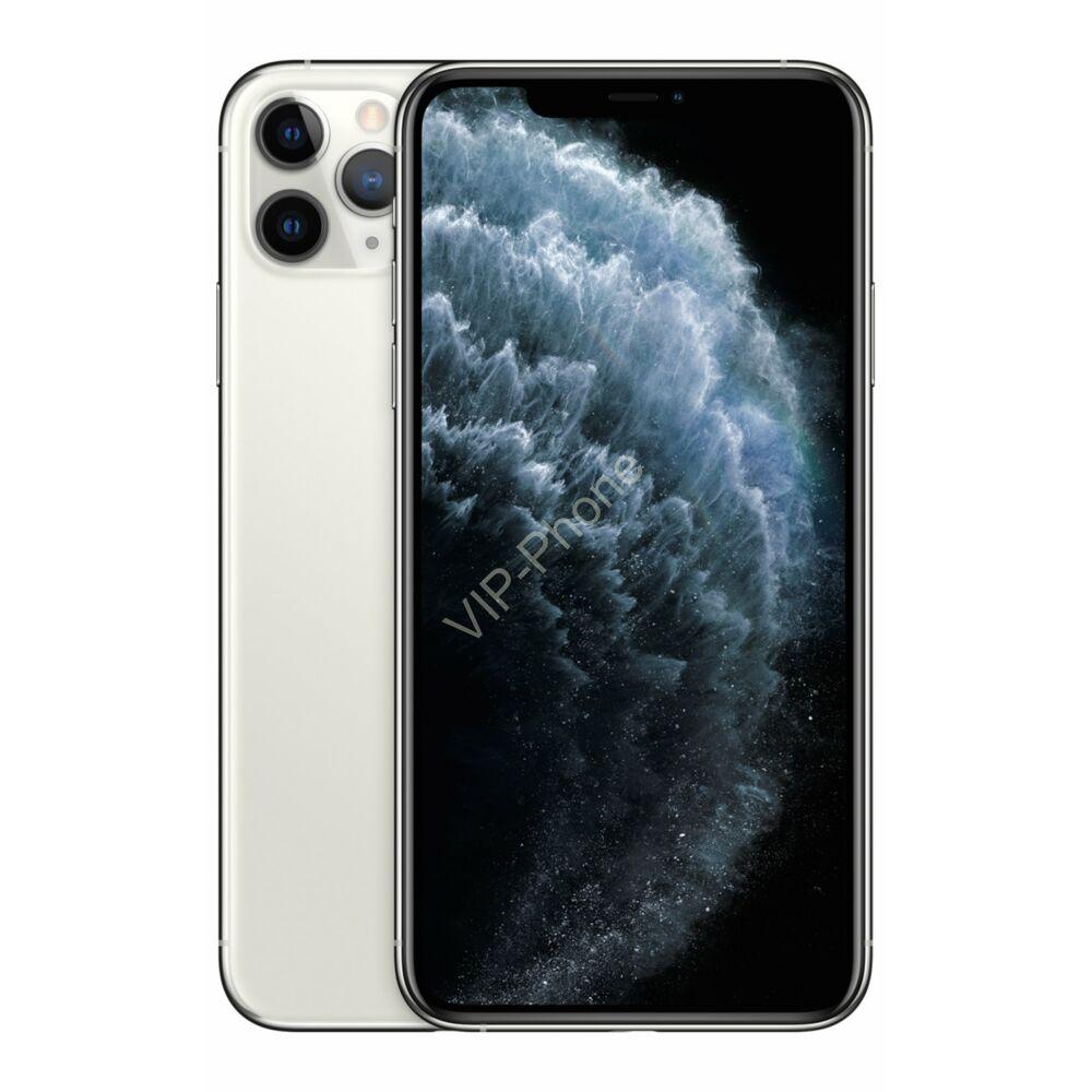 Apple iPhone 11 Pro Max 512GB Silver Gyártói Apple Store Garanciás Mobiltelefon