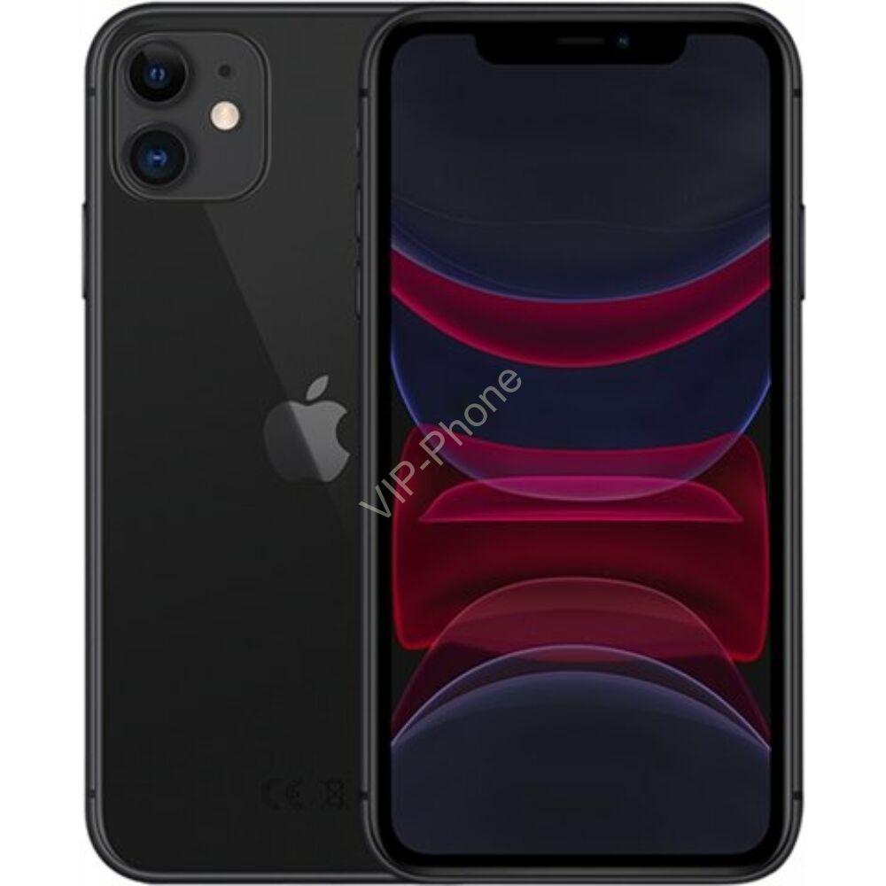 Apple iPhone 11 64GB Black Gyártói Apple Store Garanciás Mobiltelefon