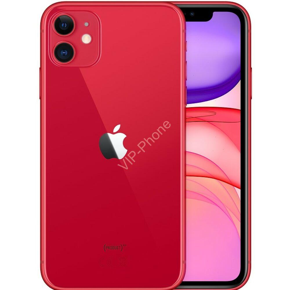 Apple iPhone 11 64GB Red Gyártói Apple Store Garanciás Mobiltelefon