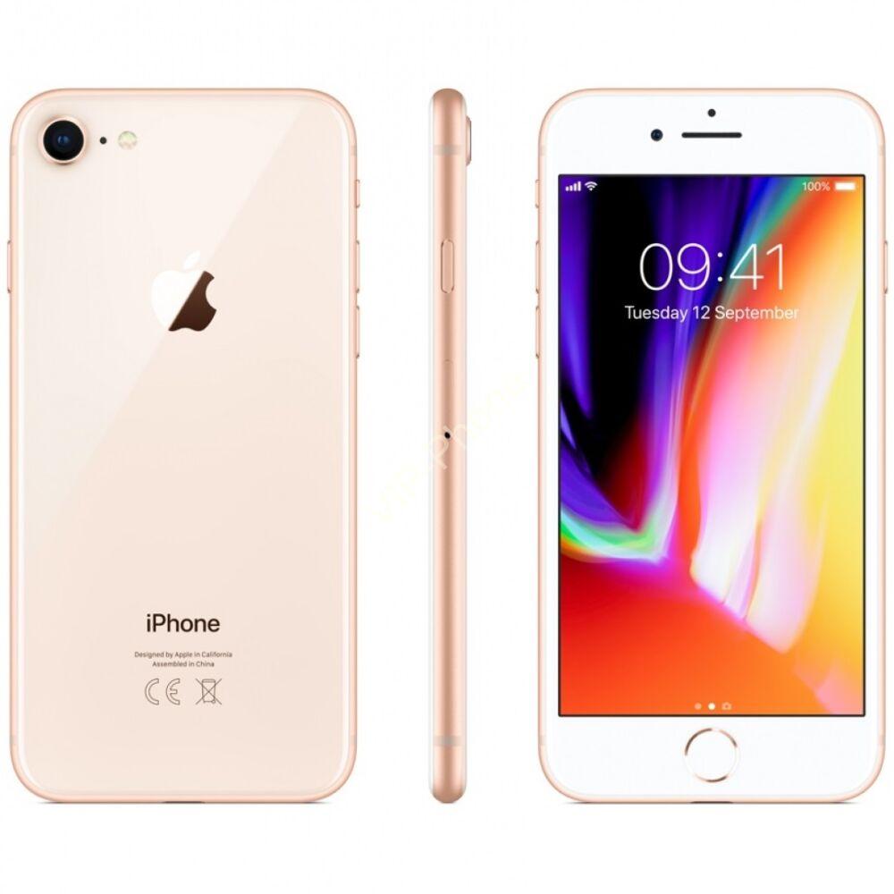 Apple iPhone 8 64GB Gold-White Gyártói Apple Store Garanciás Mobiltelefon