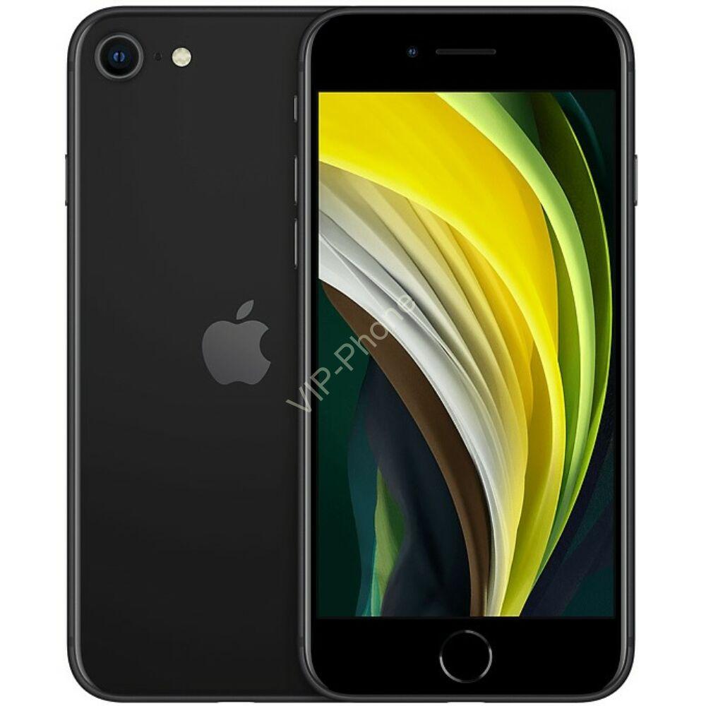 Apple iPhone SE 2020 128GB Black Gyártói Apple Store Garanciás Mobiltelefon