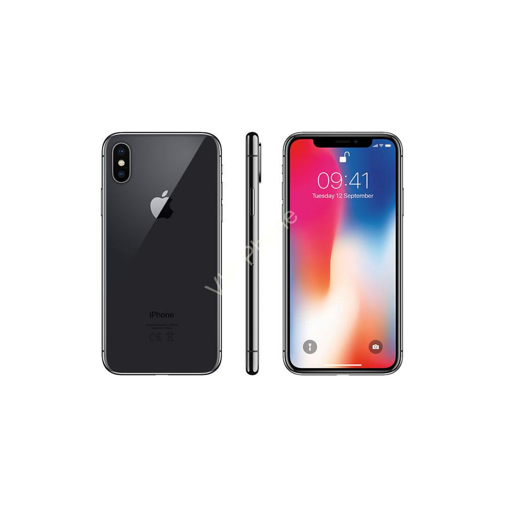Apple iPhone X 64GB Space Gray Gyártói Apple Store Garanciás Mobiltelefon