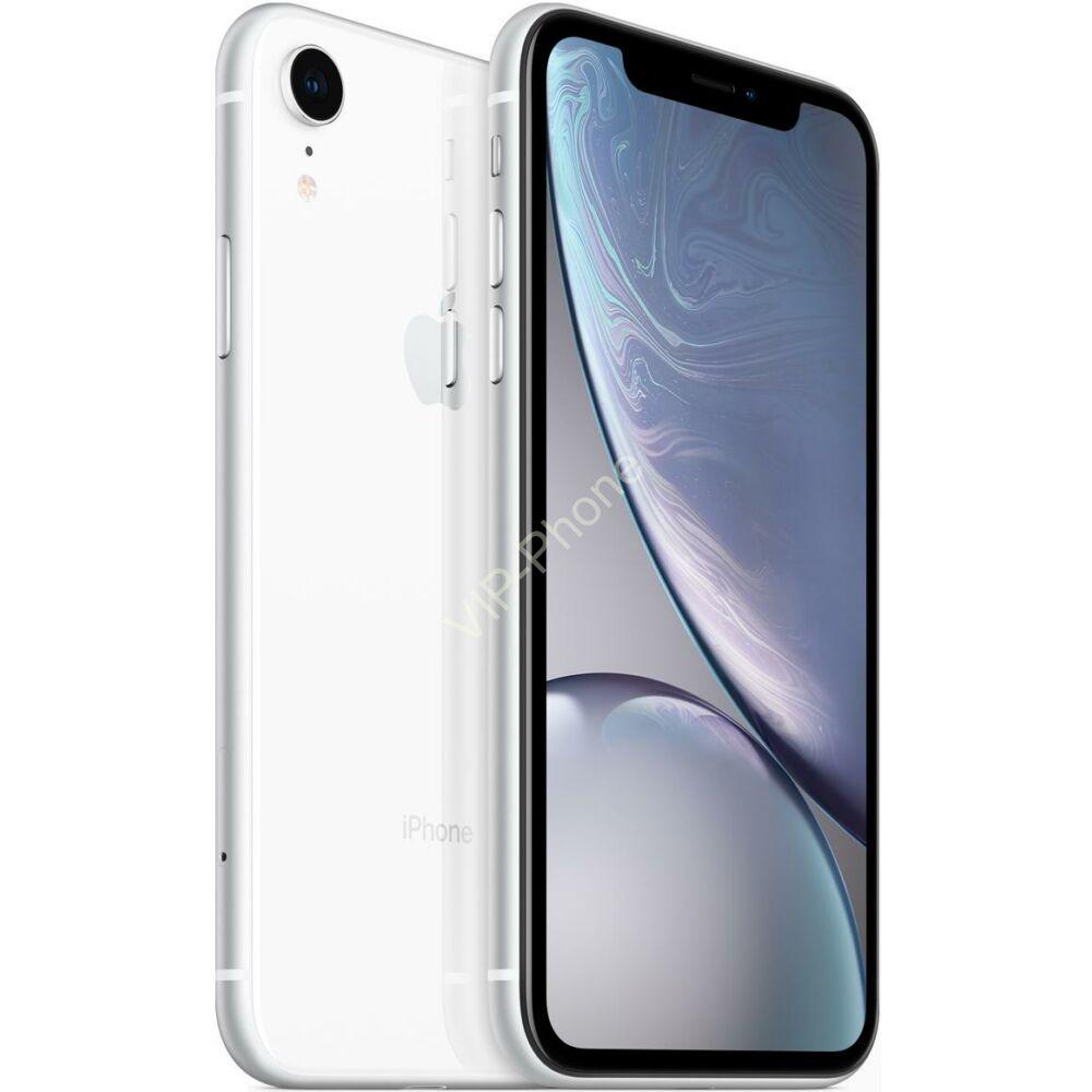 Apple iPhone XR 64GB White Gyártói Apple Store Garanciás Mobiltelefon