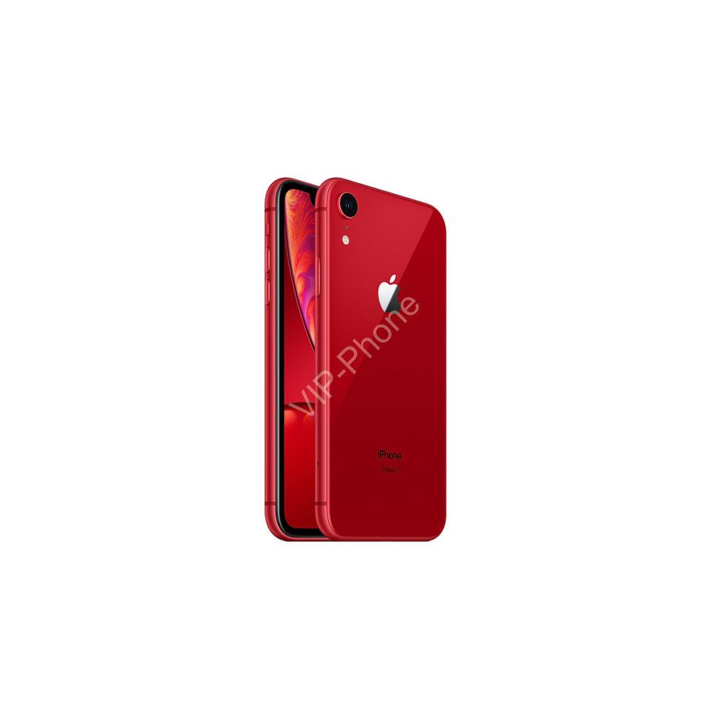 Apple iPhone XR 128GB Red Gyártói Apple Store Garanciás Mobiltelefon