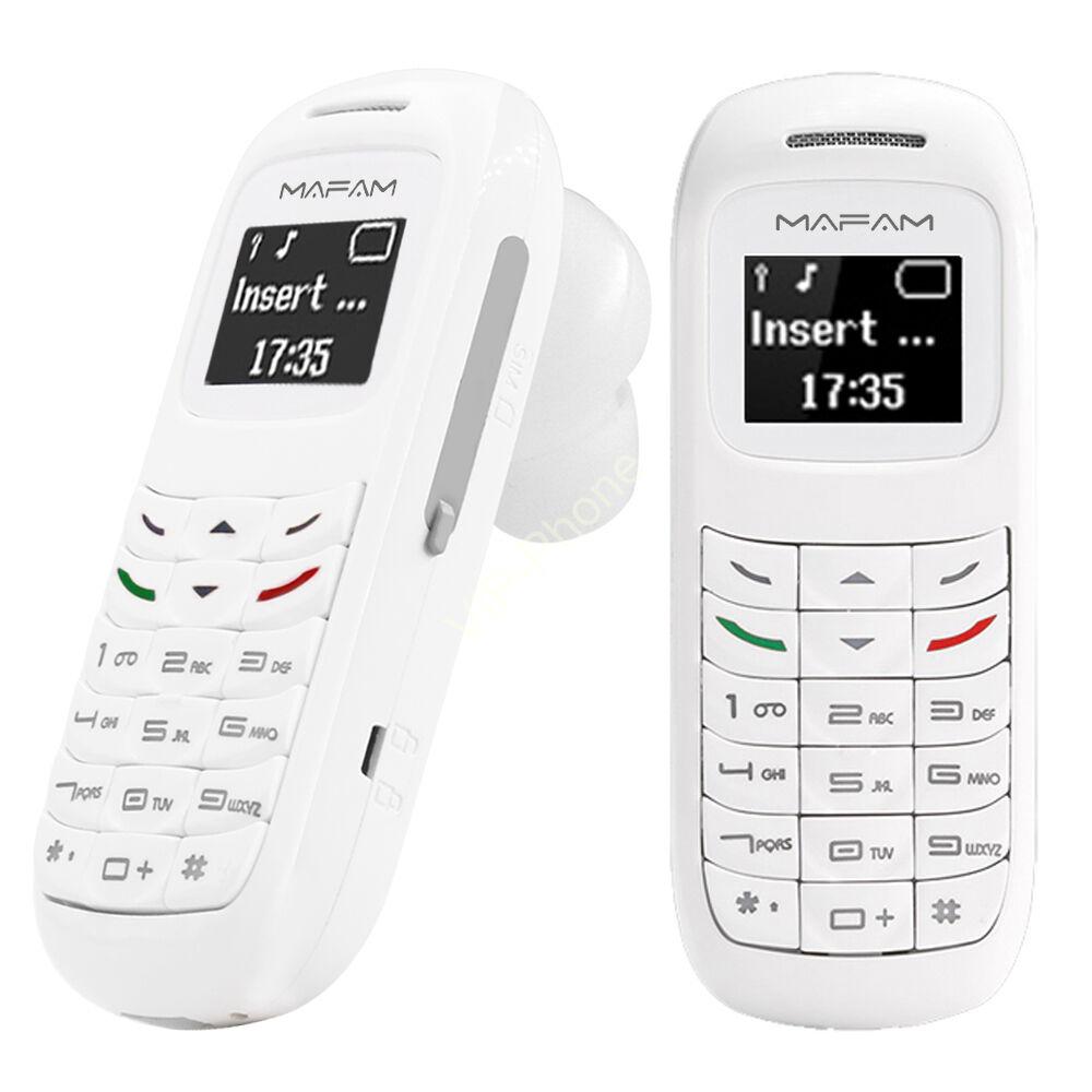 L8Star BM70 Mini Phone fehér kártyafüggetlen mobiltelefon