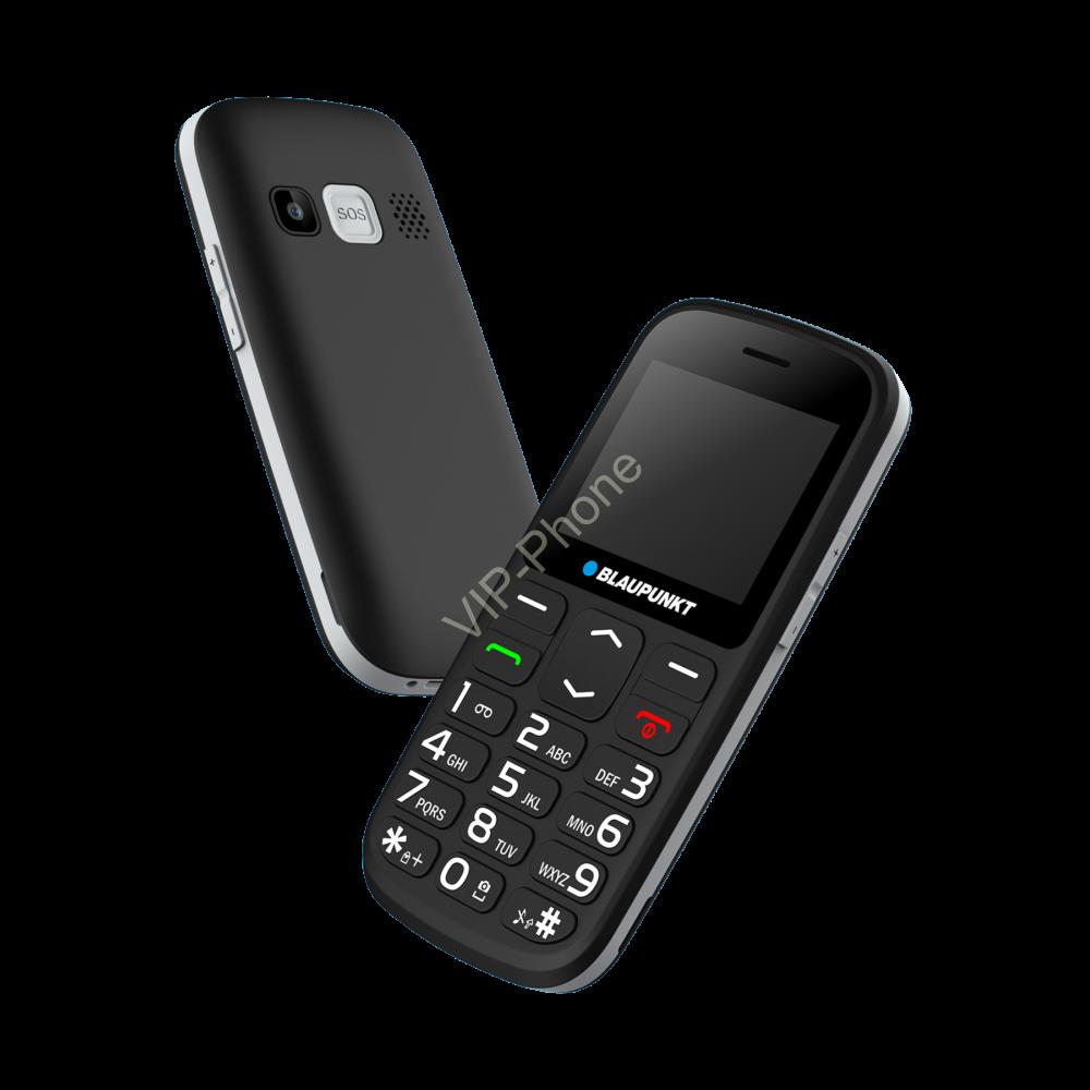 Blaupunkt BS02 fekete gyártói garanciás kártyafüggetlen mobiltelefon