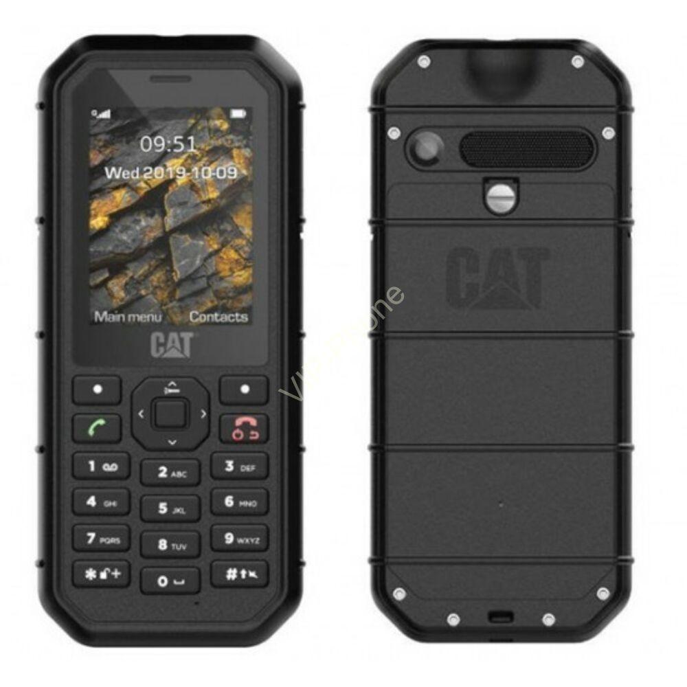 CAT B26 Dual Sim fekete kártyafüggetlen mobiltelefon