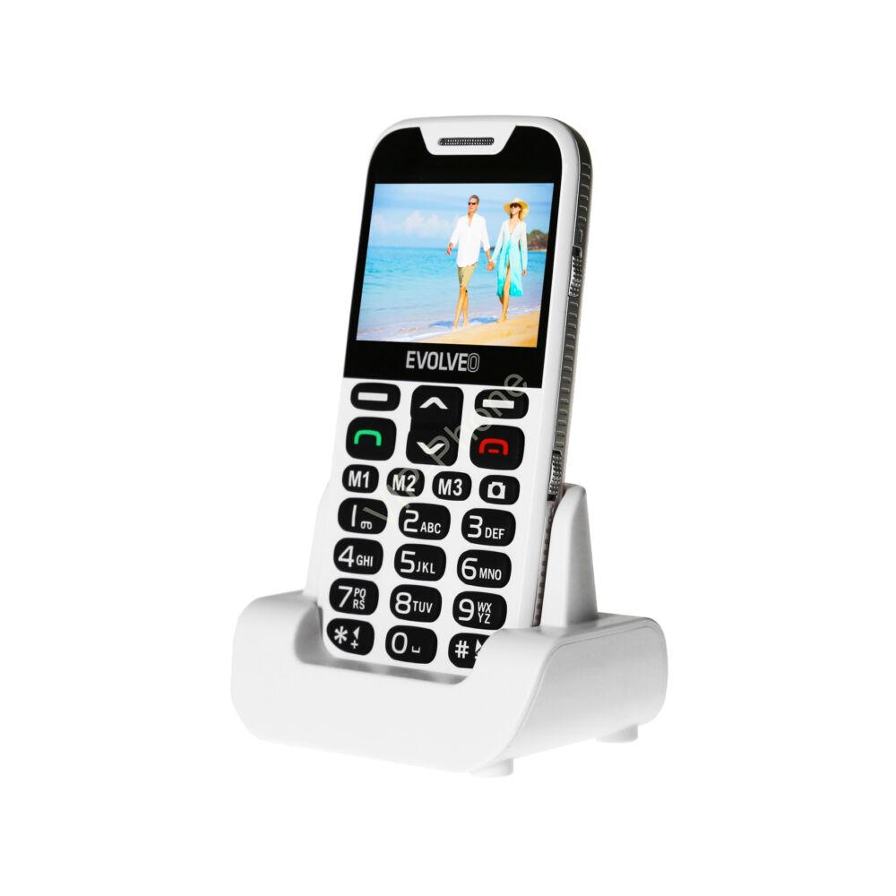 EVOLVEO EasyPhone XD (EP600) Fehér gyártói garanciás kártyafüggetlen mobiltelefon