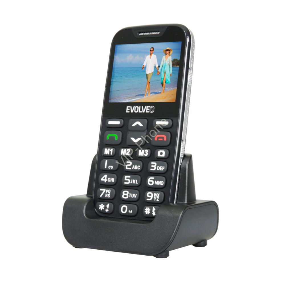 EVOLVEO EasyPhone XD (EP600) Fekete gyártói garanciás kártyafüggetlen mobiltelefon