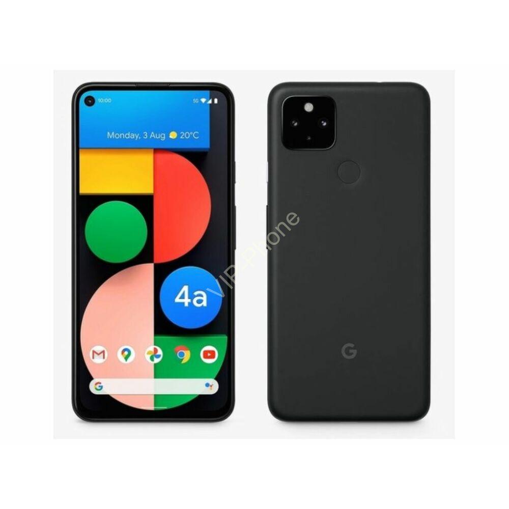 Google Pixel 4a 6GB RAM 128GB LTE Kártyafüggetlen mobiltelefon Fekete