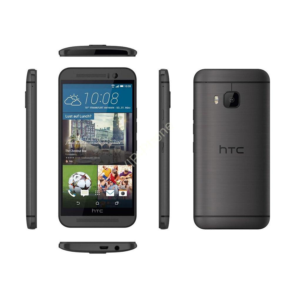 HASZNÁLT HTC One M9 szürke kártyafüggetlen mobiltelefon