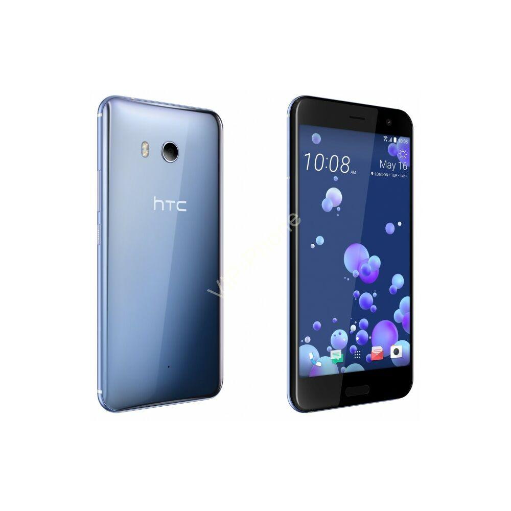 HTC U11 Dual-Sim ezüst gyártói garanciás kártyafüggetlen mobiltelefon