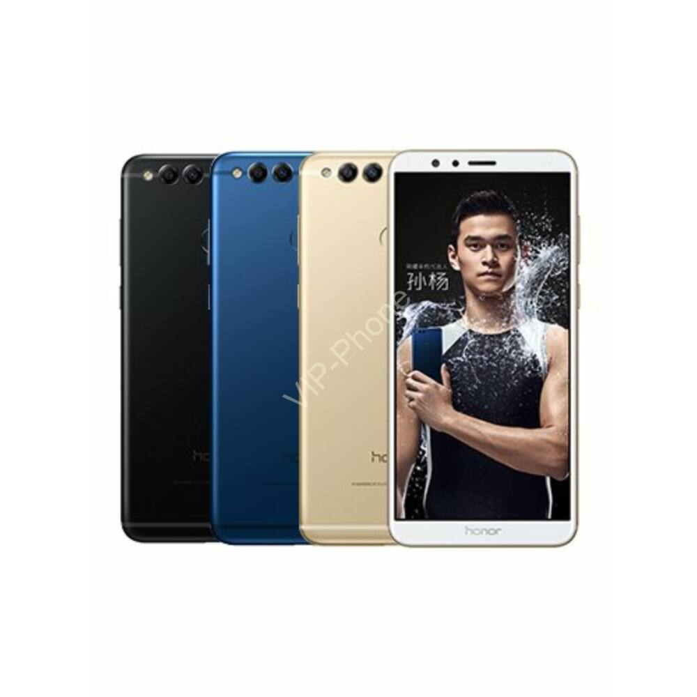 Huawei Honor 7X 64GB Dual-SIM kártyafüggetlen mobiltelefon