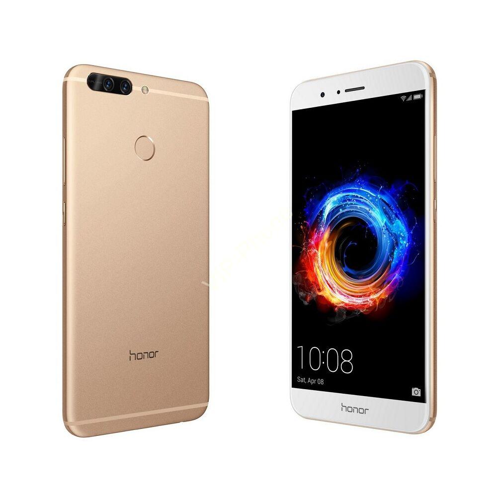 Honor 8 Pro 64GB Dual-SIM arany gyártói garanciás kártyafüggetlen mobiltelefon