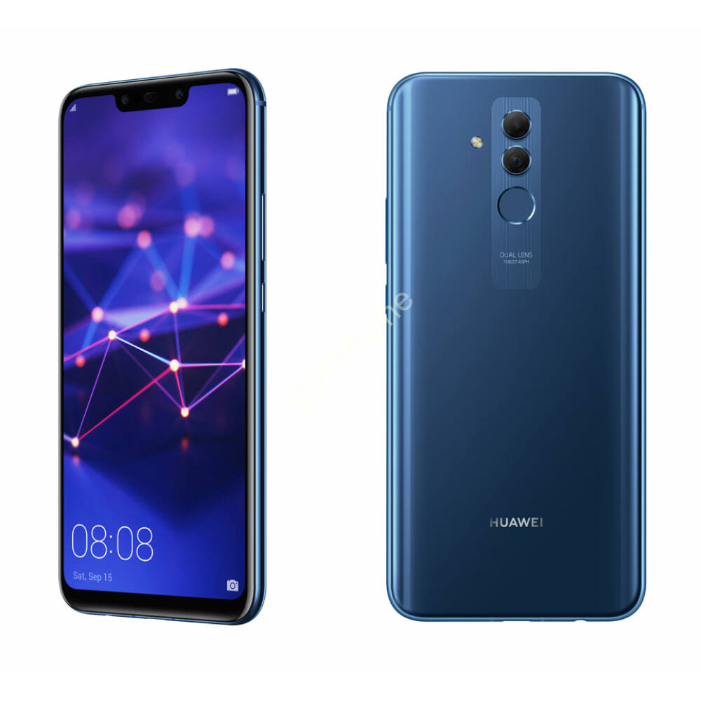 Huawei Mate 20 Lite 64GB Dual-Sim kék kártyafüggetlen mobiltelefon
