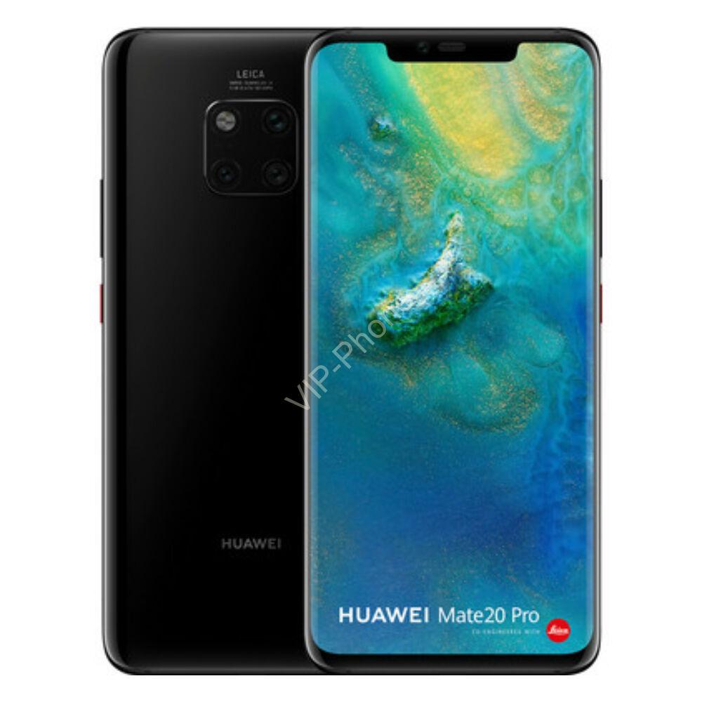 Huawei Mate 20 Pro 128GB fekete kártyafüggetlen mobiltelefon