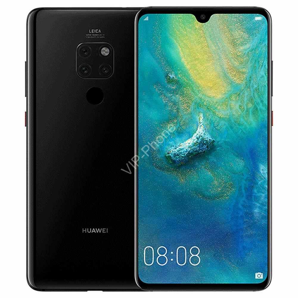 Huawei Mate 20 128GB Dual-Sim fekete kártyafüggetlen mobiltelefon