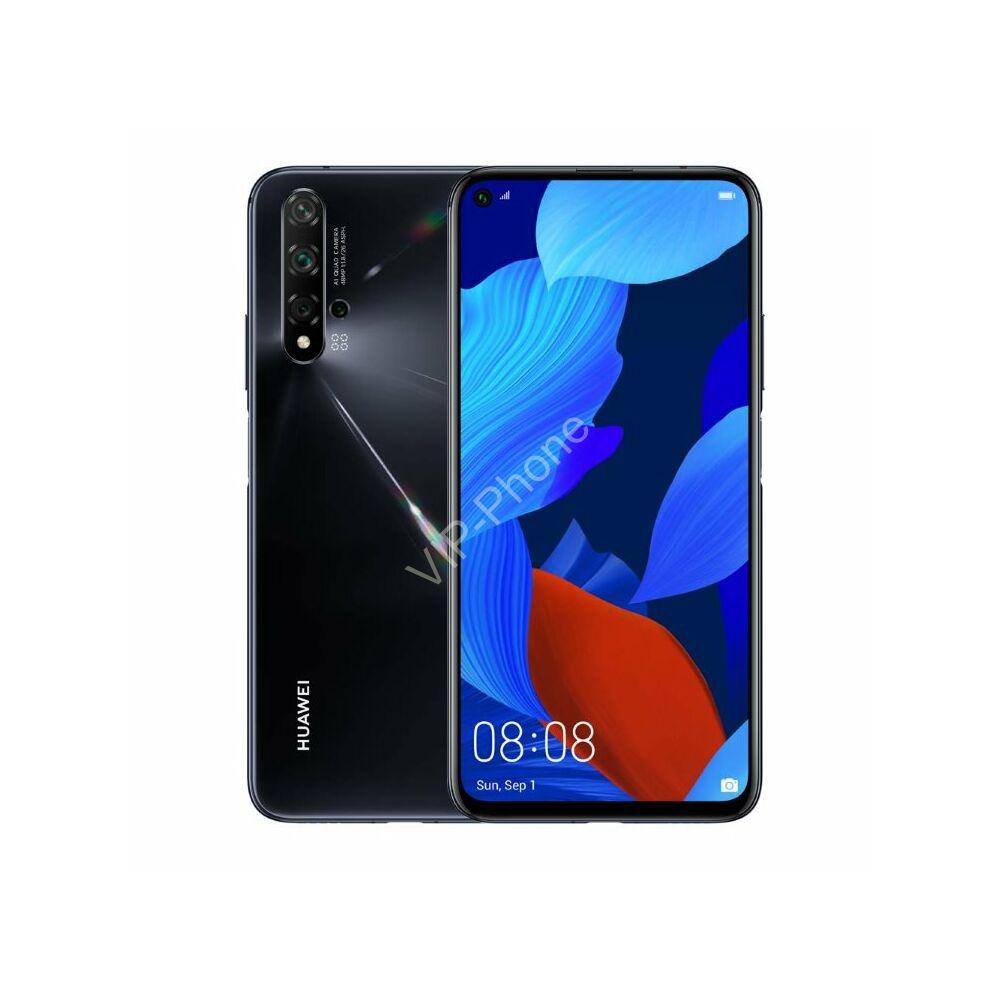 Huawei Nova 5T 128GB Dual-SIM fekete kártyafüggetlen mobiltelefon
