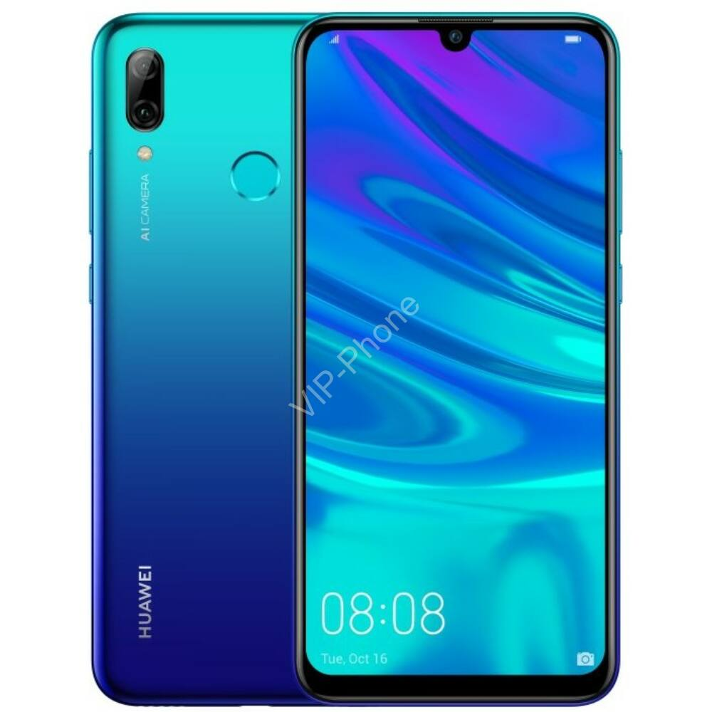 Huawei P Smart 2019 64GB Dual-SIM auróra kék kártyafüggetlen mobiltelefon