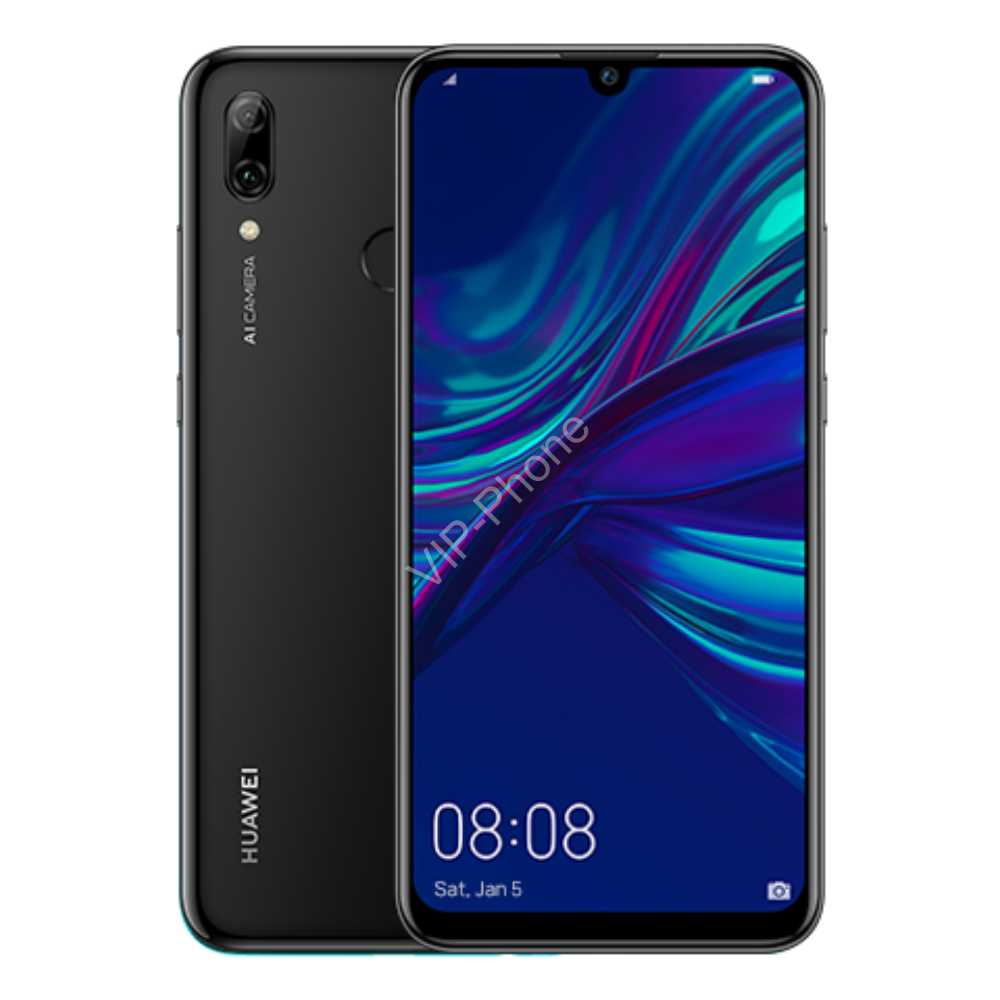 Huawei P Smart 2019 64GB Dual-SIM fekete kártyafüggetlen mobiltelefon