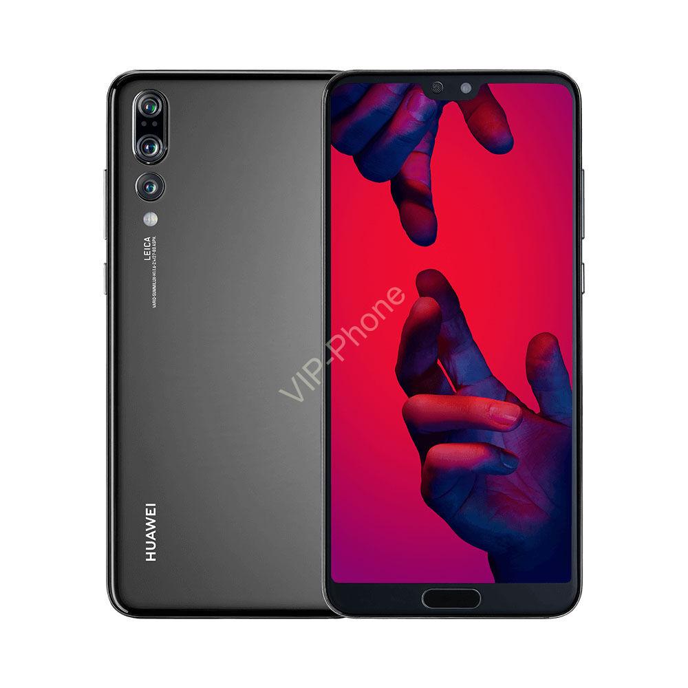 Huawei P20 Pro 128GB Dual-SIM fekete kártyafüggetlen mobiltelefon