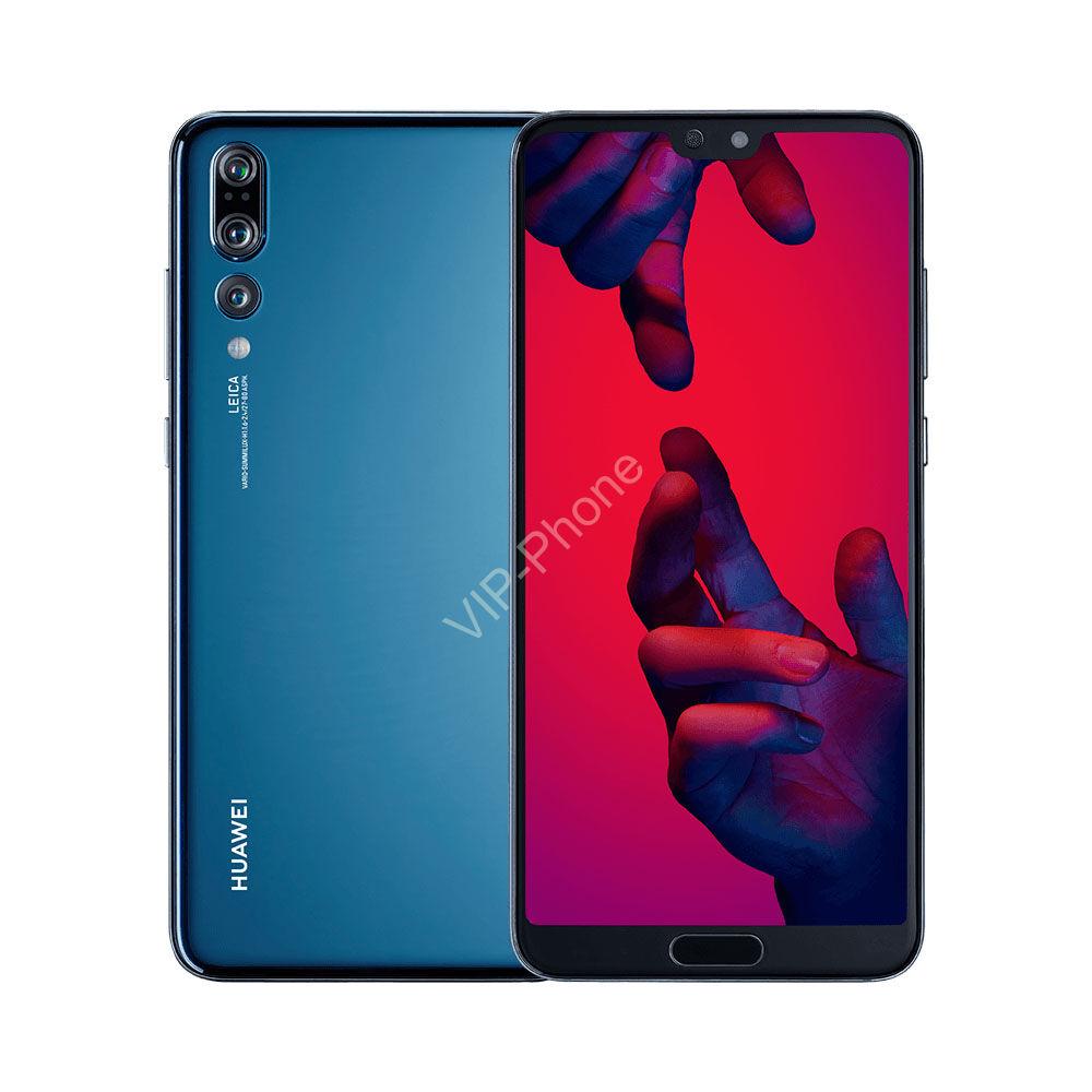 Huawei P20 Pro 128GB Dual-SIM kék gyártói garanciás kártyafüggetlen mobiltelefon