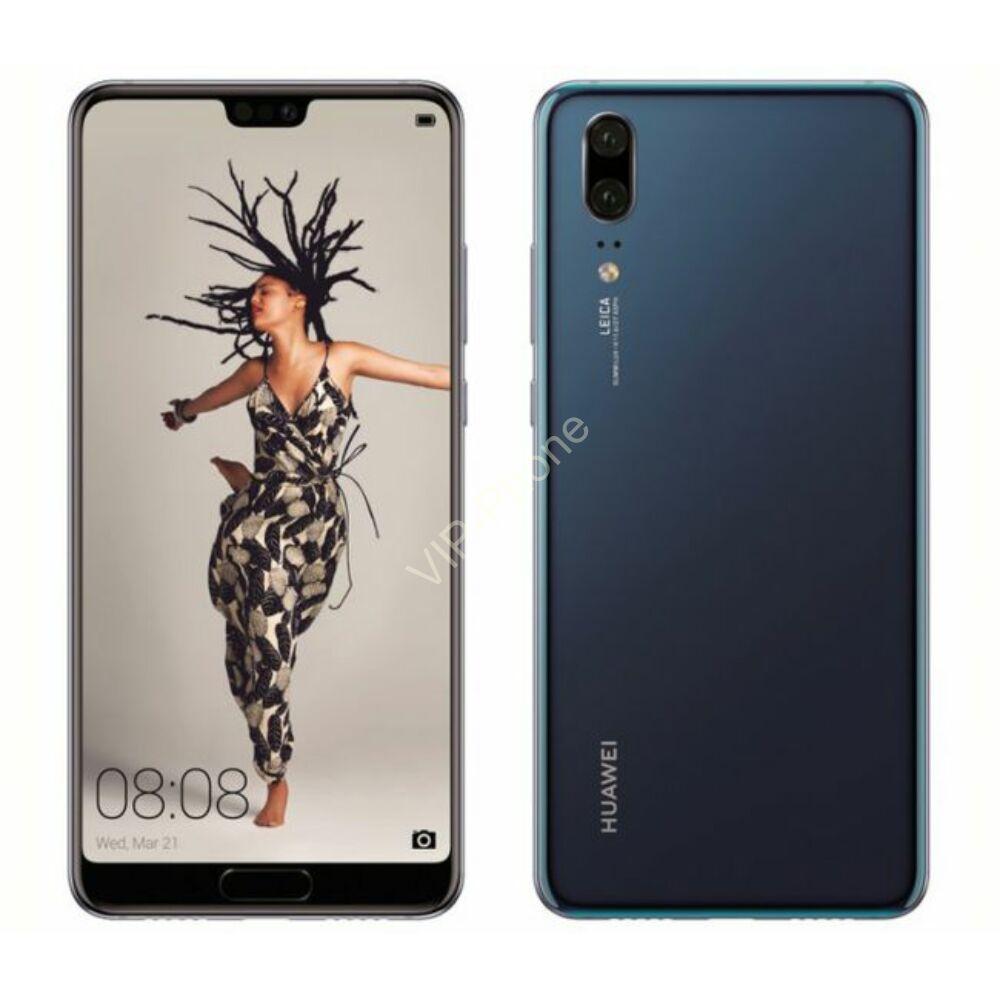 Huawei P20 128GB Dual-SIM kék gyártói garanciás kártyafüggetlen mobiltelefon