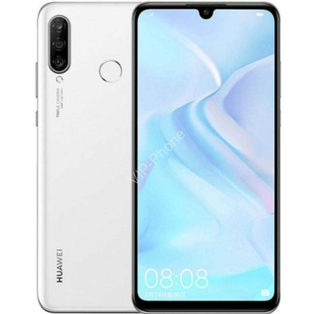 Huawei P30 Lite Dual-SIM fehér kártyafüggetlen mobiltelefon