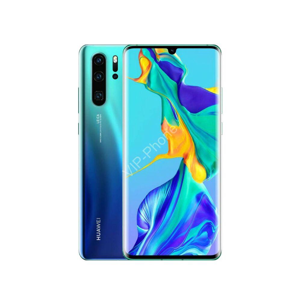 Huawei P30 Pro 8/128GB Dual-SIM auróra kék kártyafüggetlen mobiltelefon