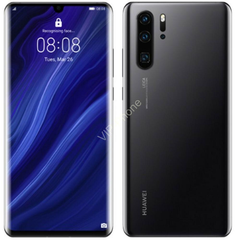 Huawei P30 Pro 8/128GB Dual-SIM fekete kártyafüggetlen mobiltelefon