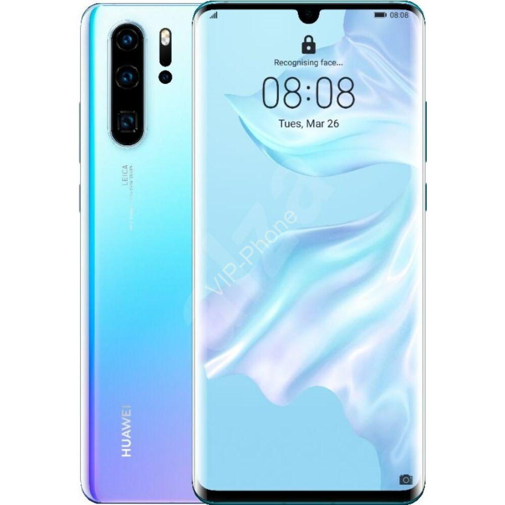 Huawei P30 Pro 8/128GB Dual-SIM jégkristály kék kártyafüggetlen mobiltelefon