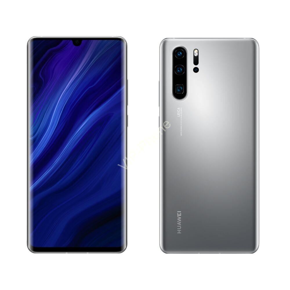 Huawei P30 Pro New Edition 256GB Dual-SIM ezüst kártyafüggetlen mobiltelefon