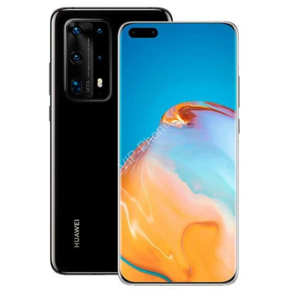 Huawei P40 Pro 5G 256GB Dual-SIM fekete kártyafüggetlen mobiltelefon