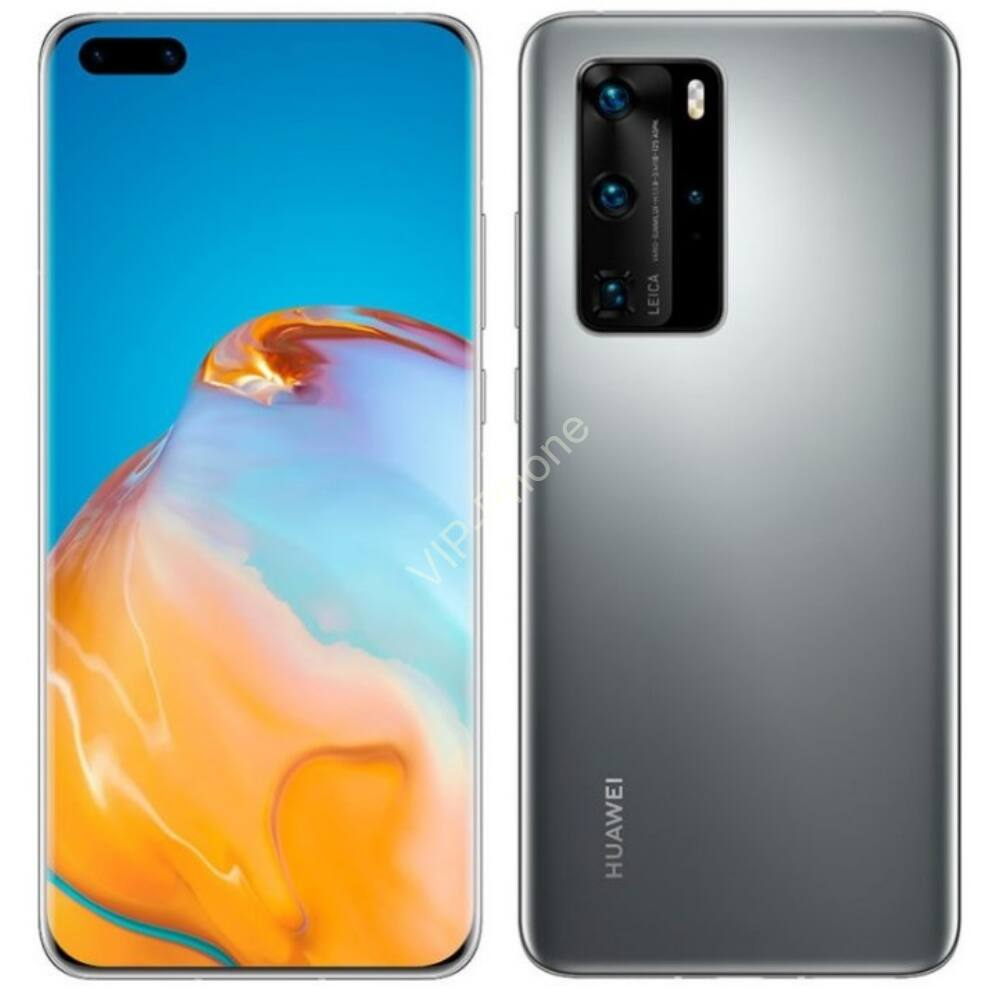 Huawei P40 Pro 5G Dual Sim 8Gb RAM 256GB Ezüst kártyafüggetlen mobiltelefon