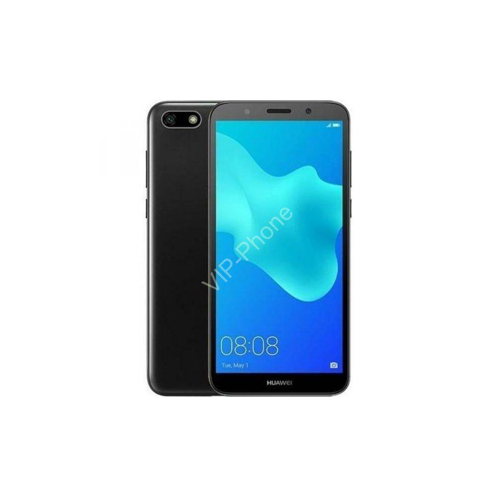 Huawei Y5 2018 Dual-SIM fekete gyártói garanciás kártyafüggetlen mobiltelefon