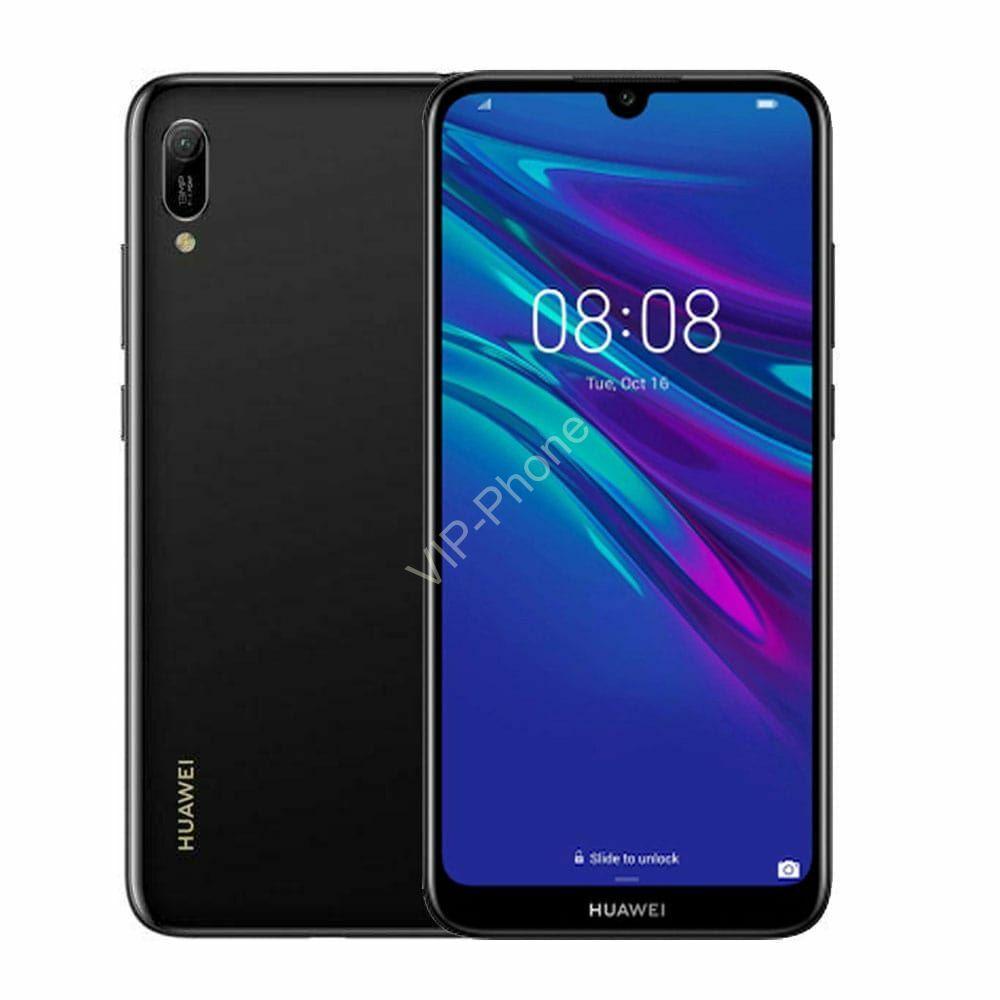 Huawei Y5 2019 Dual-SIM fekete gyártói garanciás kártyafüggetlen mobiltelefon